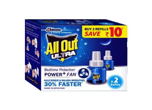 AllOut Ultra Refill Twin Pack