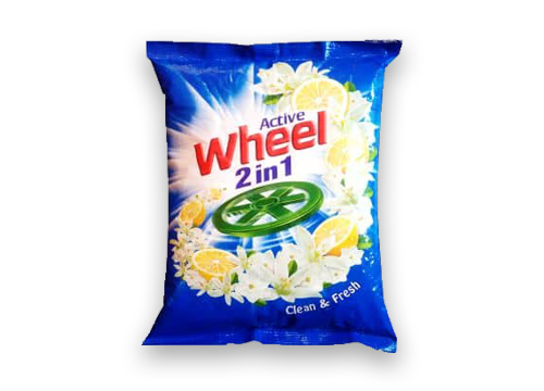 Wheel Active 2 in 1 Detergent Powder