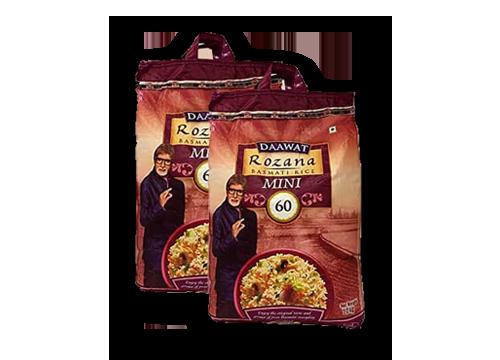 Daawat Rozana Basmati Rice Nikki 60